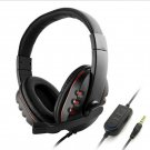 PC Gaming Headset Black K1PRO For PS4 XBOX One GH Stereo USB Headphone