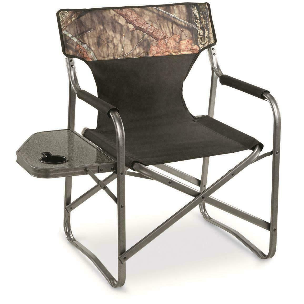 Chair Camping Outdoor Forest Hiking Military Side Stand