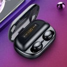 Earbuds Bluetooth Black Cool Music