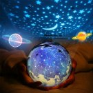 Lamp Kids Room Space Moon Stars Planets Cozy