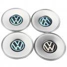 4x 155mm Volkswagen for VW 3B0601149 Emblem Logo Set Hubcaps Center Caps Wheel Hubcaps Hub Cap