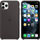 Apple Silicone Protection Case for iPhone 11 Black Soft Silicone