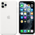 Apple White Silicone Case for iPhone 11 Protection Cover