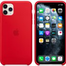 Apple Red Silicone Case for iPhone 11 Pro Max Protection Cover