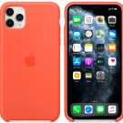 Apple Clementine Silicone Case for iPhone 11 Pro Max Protection Cover