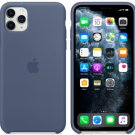 Apple Alaskan Blue Silicone Case for iPhone 11 Pro Max Protection Cover
