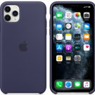 Apple Midnight Blue Silicone Case for iPhone 11 Protection Cover