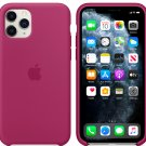 Apple Cyclamen Silicone Case for iPhone 11 Pro Max Protection Cover