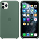 Apple Pine Green Silicone Case for iPhone 11 Pro Max Protection Cover