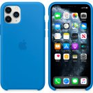 Apple Blue Silicone Case for iPhone 11 Protection Cover