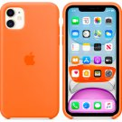 Apple Tangerine Silicone Case for iPhone 11 Pro Max Protection Cover
