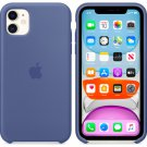 Apple Linen Blue Silicone Case for iPhone 11 Pro Max Protection Cover