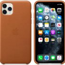 Apple Brown Genuine Leather Case for iPhone 11 Pro Max Protection Cover