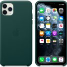 Apple Forest Green Genuine Leather Case for iPhone 11 Protection Cover