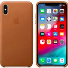 Apple iPhone XS 5,8″ Brown Genuine Original Leather Case Cover