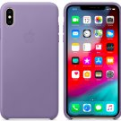Apple iPhone XS 5,8″ Genuine Original Leather Case Cover - Lilac