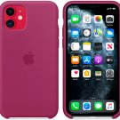 Pomegranate Apple Genuine Original Silicone Protective Cover Case iPhone 11 6.1 ″