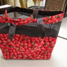 Strawberry Mesh Bag
