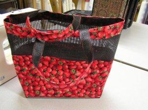 Strawberry Mesh Bag