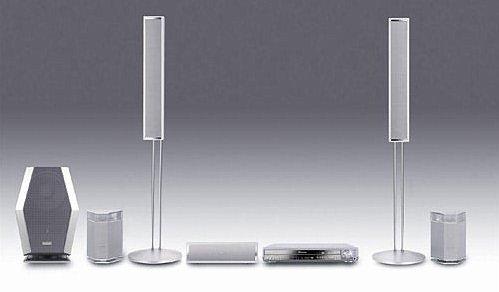 Panasonic SC-HT920 - 1000 Watts Slim 5 Disc DVD Home Theater System