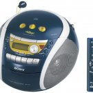 Sony CFD-E95 PSYC CD Boombox (Blue)