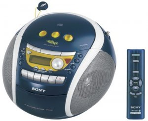 Sony CFD-E95 PSYC CD Boombox (Blue)