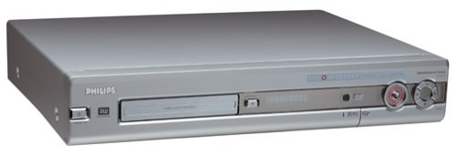 Philips DVDR72 Progressive-Scan DVD Player +  Recorder