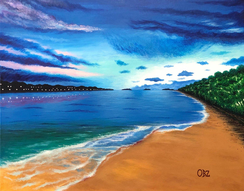 """Ocean of Dreams"" Original Acrylic Painting"