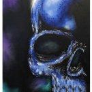 """Cold Steel II"" Skull Poster Art Print"