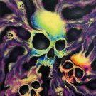 """Psychedelia"" Skull Poster Art Print"