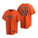 Men's Houston Astros Jose Altuve Orange 2020 Stitched Jersey