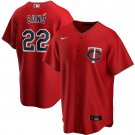Men's Miguel Sano Minnesota Twins Alternate 2020 Replica Player Jersey - Red