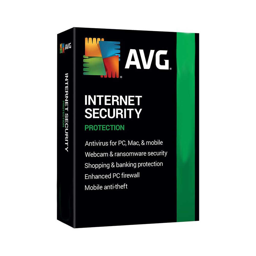 AVG Internet Security (5 Devices  / 3 Years) Global
