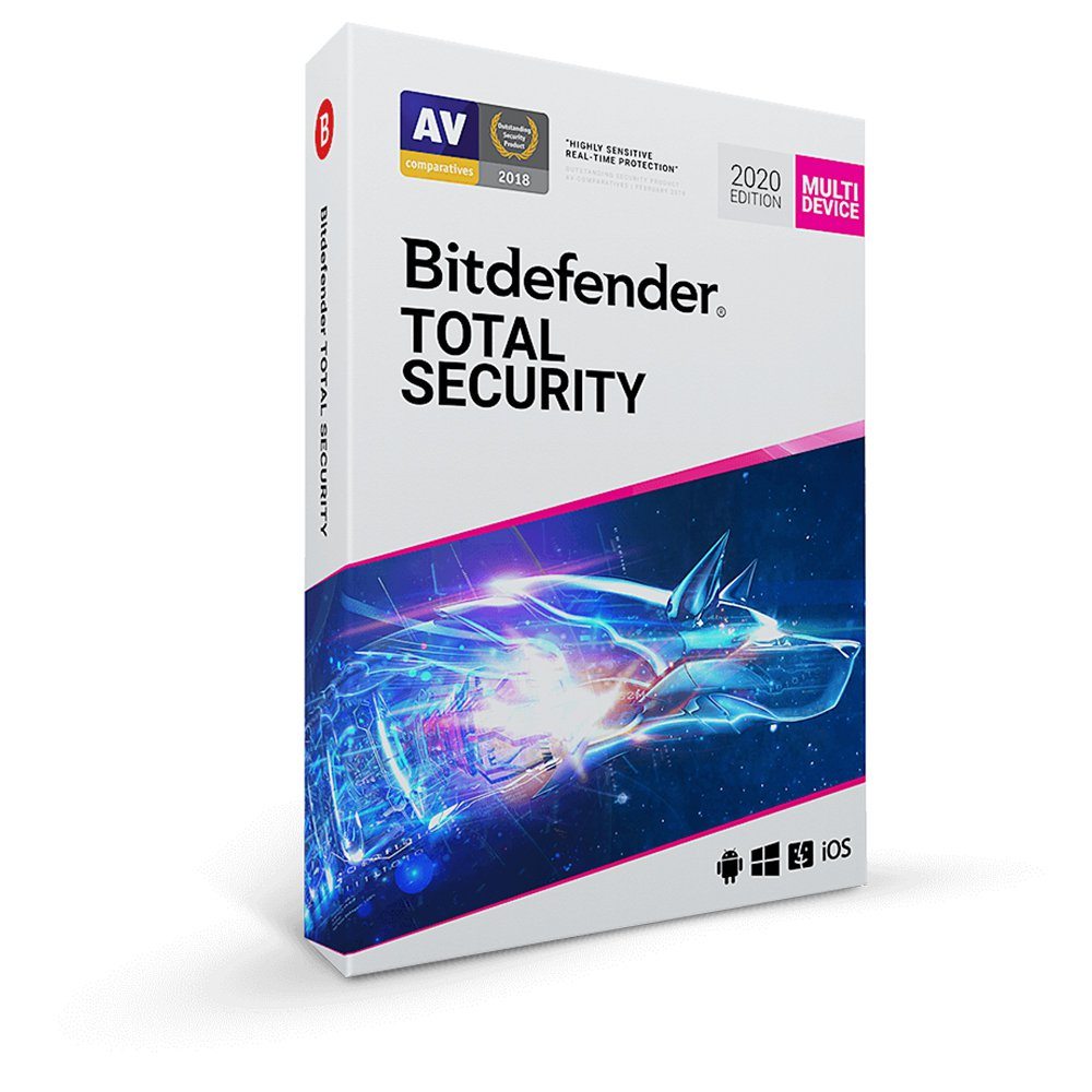 Bitdefender Total Security (5 Devices / 1 Year) Global