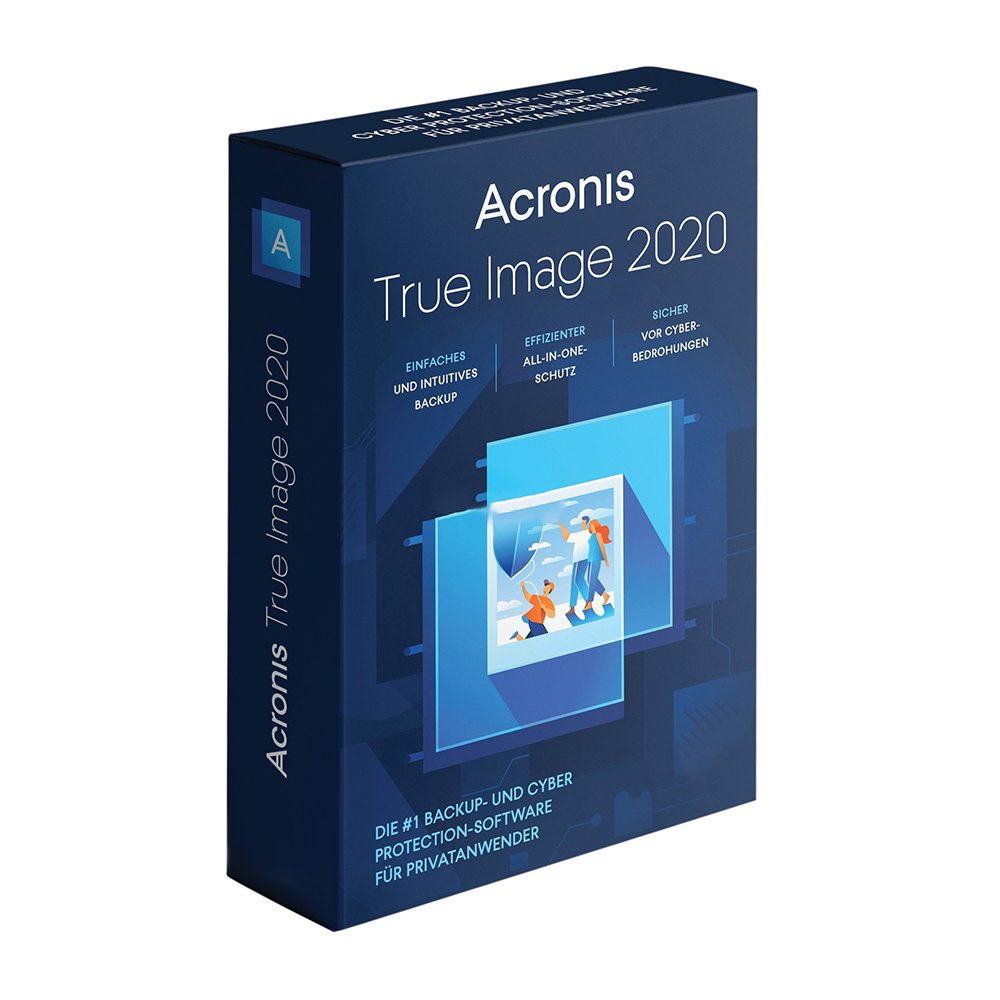 Acronis True Image 2020 (3 Devices / 1 Year) Advanced +250GB Acronis Cloud Storage