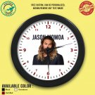1 JASON MOMOA Wall Clocks