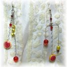 Citrus Fizz y Pop! - Earrings