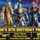 FORTNITE DIGITAL BIRTHDAY INVITATION