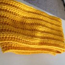 Adult yellow scarf (handcrafted)