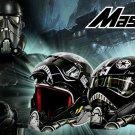 NEW Black Star Wars MASEI Star Wars helmet motorcycle helmet half open face helmet 610 ABS