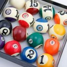 2018 Latest 57.25mm Ball No inside No Billiard Balls Phenolic Resin 16pcs