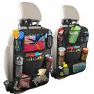Oxford Fabric Car seat Organizer Kids Storage Bag with Touch Screen Pockets for