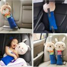 Cute Animal Car Seat Strap Belt Cover Doll Toy Adjustable Pillow Pad Cushion