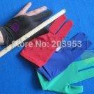 elasticity snooker pool billiards cue gloves billiard three finger glove 8