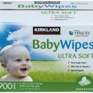 Kirkland Signature 394485 Baby Wipes - 900 Pieces