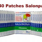Lot 20x12 = 240 Patches Hisamitsu SALONPAS - Muscle Pain Relieving - BEST PRICE