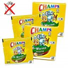 2 x 2's Champs D-Worms Deworming Chocolate Chewable Tablet for Children/Adults