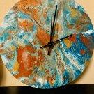 Abstract Acrylic Clock