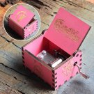 2020 New Wooden Hand Crank Queen Music Box Game Of Thrones TO MY Goigeous Wife