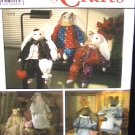 Simplicity 9336 stuffed rabbits & cats & costumes sewing pattern UNCUT